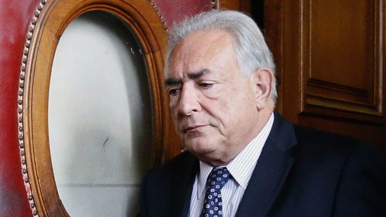 Dominique Strauss-Kahn (26 février 2013)  (Kenzo Tribouillard / AFP)