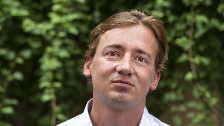 Le journaliste et écrivain Adrien Absolu, 17 juin 2020 (OLIVIER CULMANN)