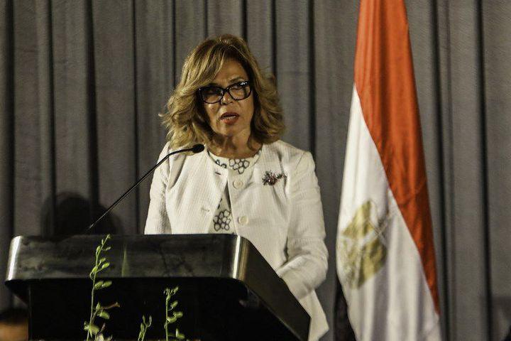 Moushira Khattab le 19 juillet 2016, au Caire (Egypte) (MOUSTAFA ELSHEMY / ANADOLU AGENCY)