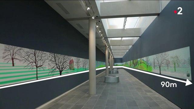 David Hockney : le peintre pop tombé amoureux du pays d'Auge