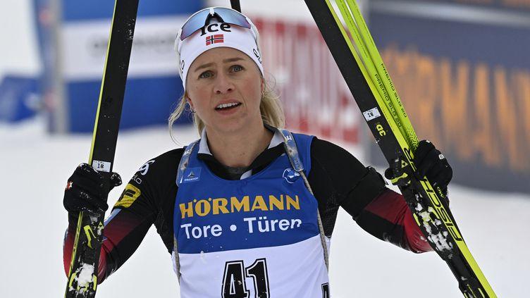 La Norvégienne Tiril Eckhoff (TOBIAS SCHWARZ / AFP)