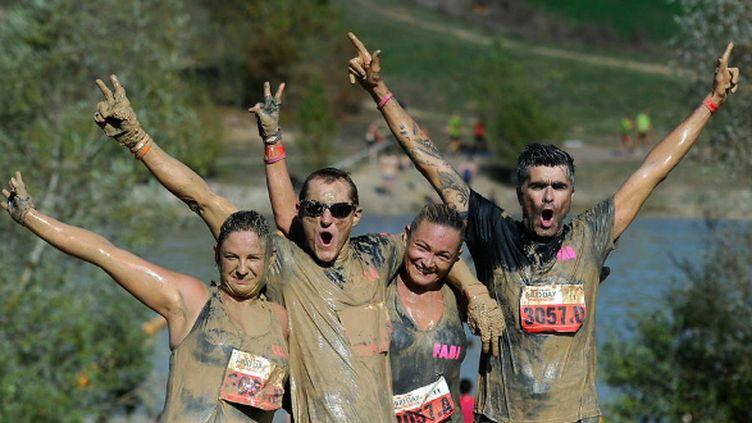 """Des """"Mud Guys"""" lors de l'édition 2014"""