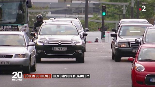 Déclin du diesel : des emplois menacés ?