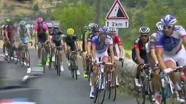 Les chefs d'État sur la route du Tour de France
