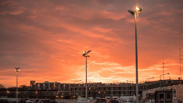 La vue de la prison Fleury-Mérogis (Essonne), le 19 janvier 2018. (JULIEN MATTIA / AFP)