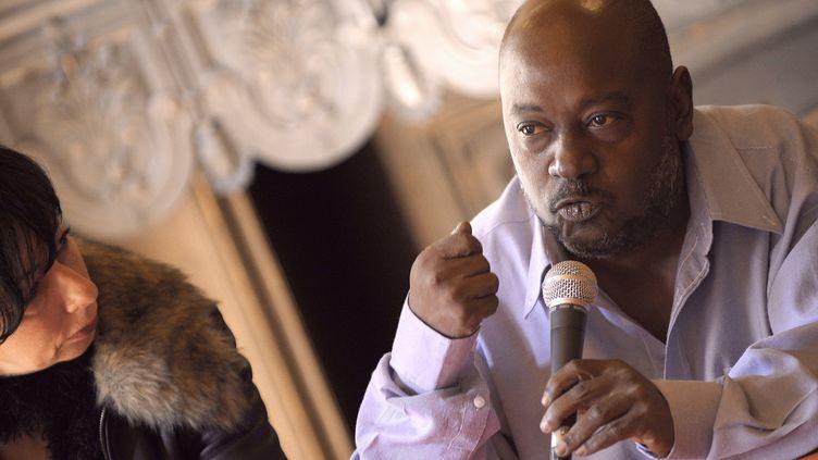 L'écrivain haïtien Lyonel Trouillot en 2010  (PHILIPPE DESMAZES / AFP)