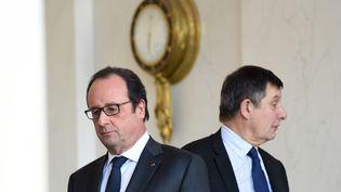 François Hollande à l'Elysée, à Paris le 23 décembre 2015. (STEPHANE DE SAKUTIN / AFP)