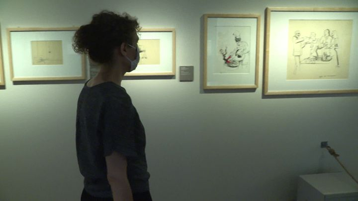 A Besançon, le Musée du Temps consacre une exposition au Tomi Ungerer. (P. Arbez / FranceTélévisions)