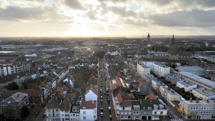 Calais (Pas-de-calais), ville la plus touchée par le chômage en France, le 2 janvier 2012. (PHILIPPE HUGUEN / AFP)