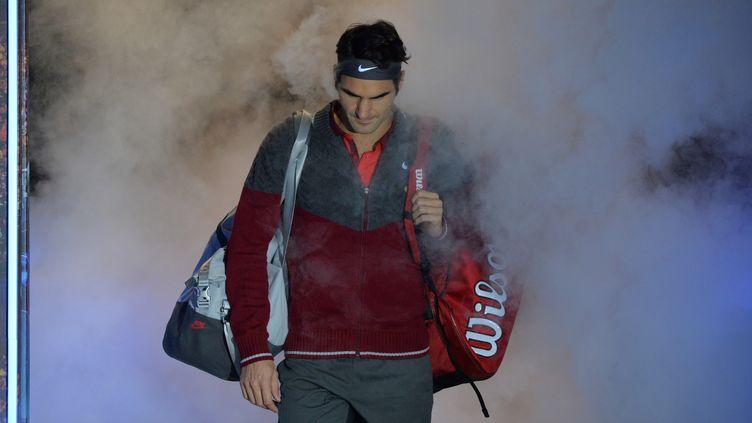 Roger Federer avait déclaré forfait avant la finale du Masters, à Londres (GLYN KIRK / AFP)