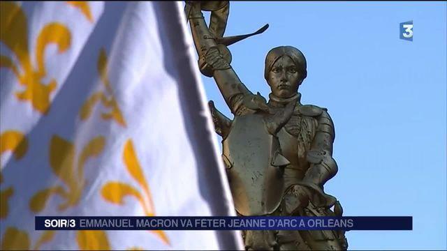Emmanuel Macron va fêter Jeanne d'Arc à Orléans