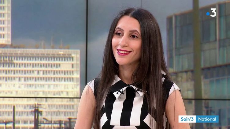 Nina Tarhouny, chercheuse spécialiste des risques psychosociaux au travail (France 3)