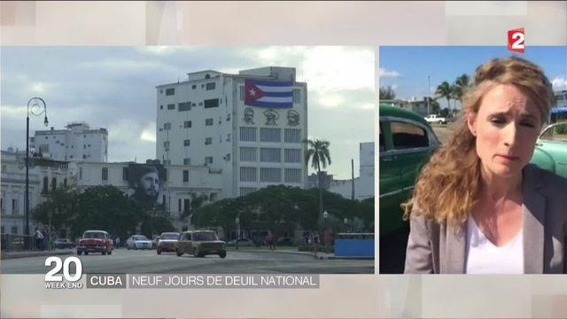 Cuba : neuf jours de deuil national