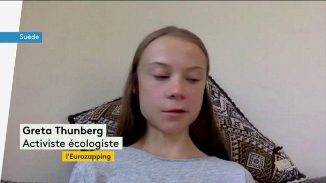 Eurozapping : le cri d'alarme de Greta Thunberg