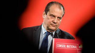 Le premier secrétaire du Parti socialiste, Jean-Christophe Cambadélis, le 6 février 2016 à Paris. (YANN KORBI / AFP)