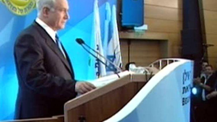 Le Premier ministre israélien Benyamin Netanyahu (© France)