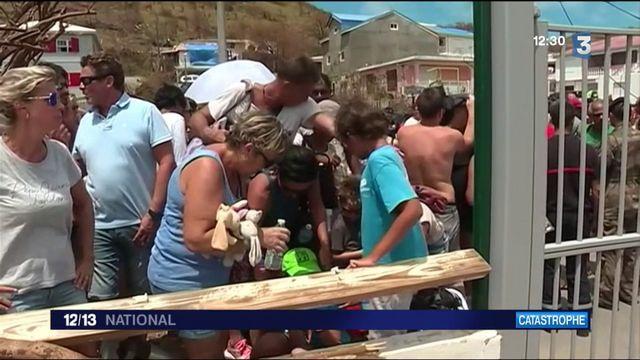 Saint-Martin : les familles bloquées sur l'île avant l'arrivée de l'ouragan Jose
