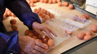 Près de 250000 œufs contaminés ont été mis sur le marché français depuis avril. (Photo d'illustration) (DANIEL MIHAILESCU / AFP)