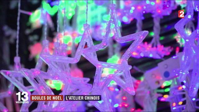 Chine : Yiwu, l'atelier mondial des décorations de Noël