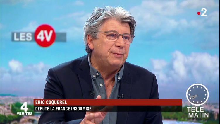 Éric Coquerel, député LFI (France 2)