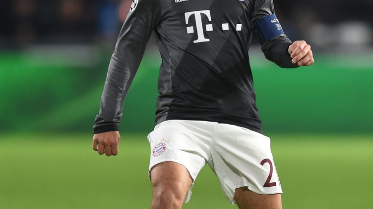 Le joueur du Bayern Munich, Philipp Lahm (CHRISTOF STACHE / AFP)