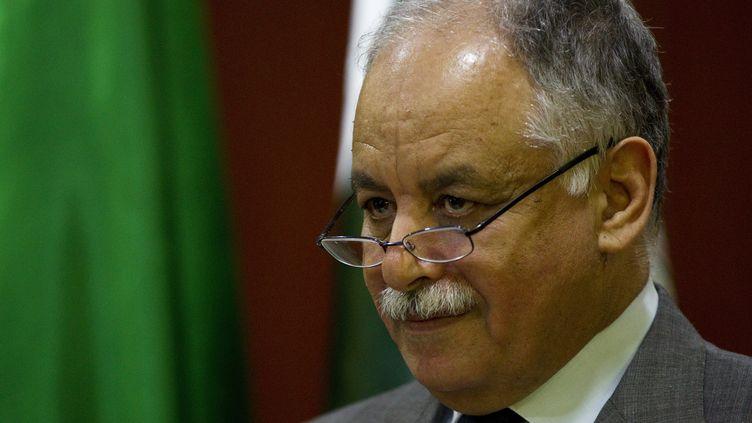 L'ancien Premier ministre libyenBaghdadi Ali al-Mahmoudi à Tripoli, le 26 juillet 2012. (CAREN FIROUZ / REUTERS)