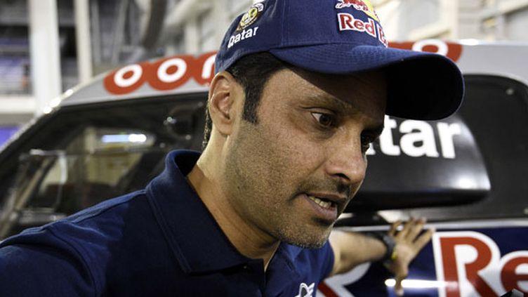 Le pilote mini Nasser Al-Attiyah