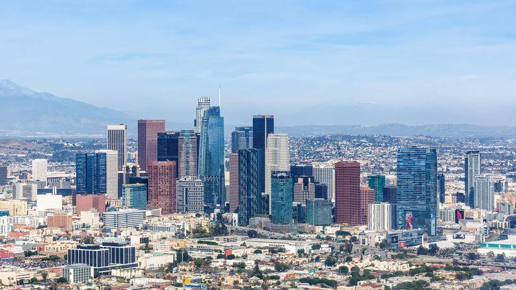 La ville de Los Angeles aux Etats-Unis, en 2021 (IMAGEBROKER.COM/SIPA)