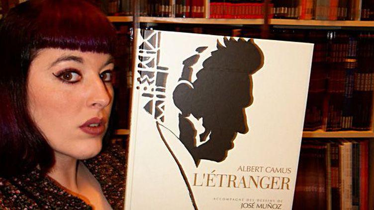 L'Etranger d'ALert Camus, illustré par Munoz : le choix de Marie Rameau  (Ed Futuropolis et Gallimard)