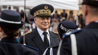 Henri-Michel Comet, préfet démissionnaire du Rhône, le 30 juin 2017 à Saint-Cyr-au-Mont-d'Or, près de Lyon. (NICOLAS LIPONNE / NURPHOTO)