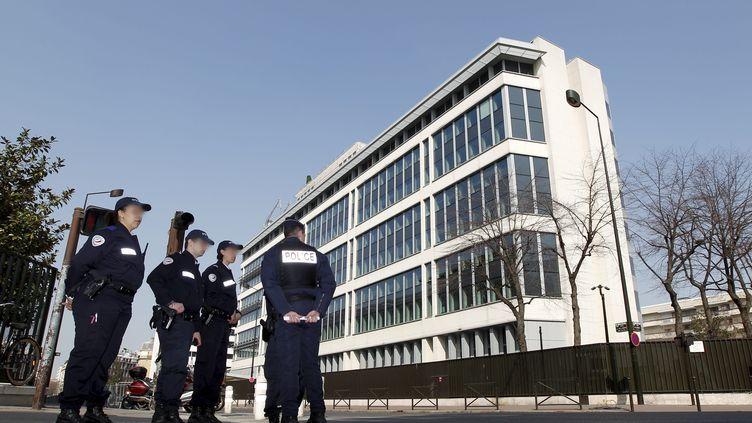 Le siège de la Sous-direction antiterroriste (SDAT), à Levallois Perret (Hauts-de-Seine). ( MAXPPP)