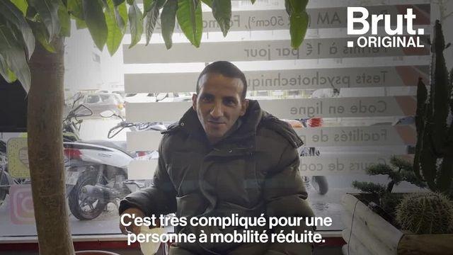 On lui a dit qu'il ne pourrait pas conduire à cause de son handicap. À 29 ans, Mehdi a décidé de passer son permis. Voilà comment il s'est adapté.