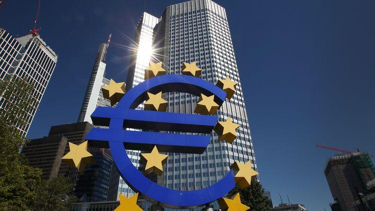 Le siège de la Banque centrale européenne à Francfort (Allemagne), le 5 septembre 2013. (DANIEL ROLAND / AFP)