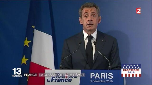 Présidentielle américaine : les réactions politiques en France