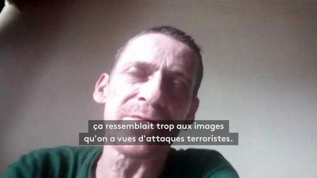 """VIDEO. """"J'ai entendu trois coups secs"""" : un témoin de l'attaque terroriste à Liège raconte"""