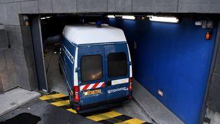 Le suspect Nordahl Lelandais aété transféré au palais de Justice de Grenoble (Isère), le 30 novembre 2017. (AFP)