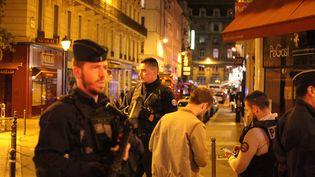 Une attaque au couteau a eu lieu samedi 12 mai dans la soirée quartier de l'Opéra, à Paris. (MAXPPP)