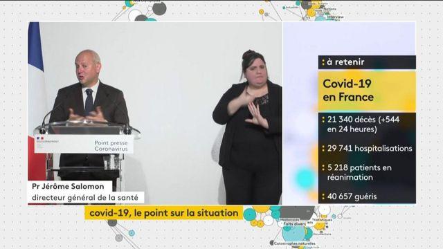 """VIDEO. Jérôme Salomon : """"Les conditions ont été sérieuses pendant les opérations de vote"""" du 15 mars"""
