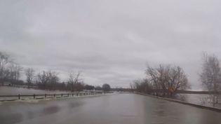 Le Canada est ravagé par de terribles inondations.  (CAPTURE D'ÉCRAN FRANCE 3)