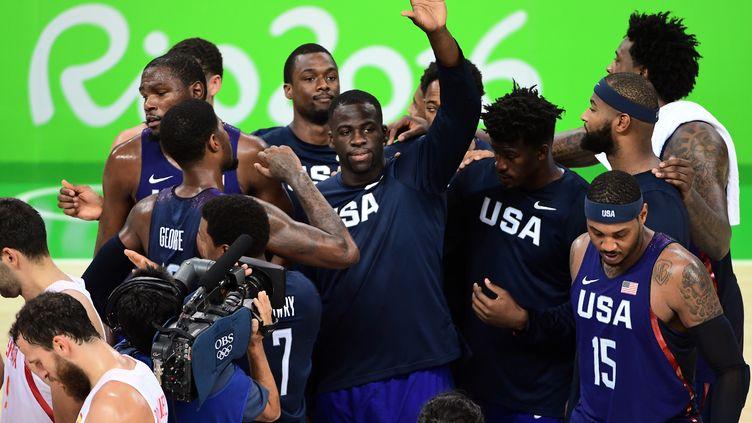 Les Etats Unis accèdent à la finale du tournoi olympique  (EMMANUEL DUNAND / AFP)
