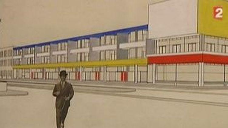 Les grandes lignes de Mondrian au Centre Pompidou  (Culturebox)