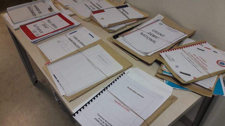 Des cahiers de doléances du Bas-Rhin destinés à la préfecture de Strasbourg par les maires, le 22 février 2019 (illustration). (SOLÈNE DE LARQUIER / FRANCE-BLEU ALSACE / FB ELSASS)