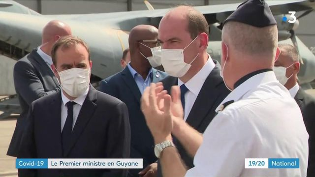 Covid-19 : le Premier ministre en Guyane