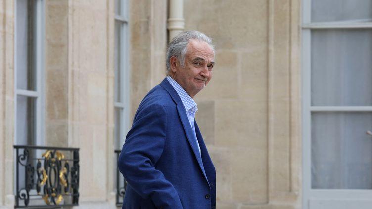 Jacques Attali en mai 2019. (LUDOVIC MARIN / AFP)