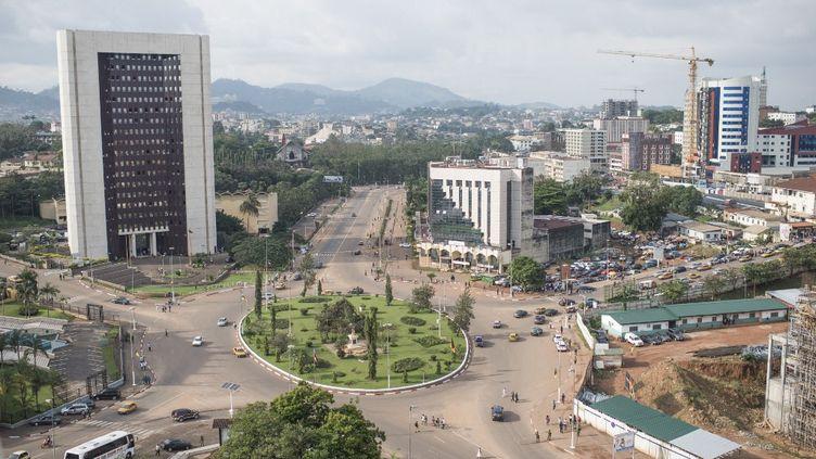 Yaoundé, la capitale du Cameroun, le 22 novembre 2019. (COLIN DELFOSSE / AFP)