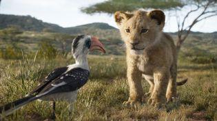 """Le remake du """"Roi Lion"""" a été réalisé en images de synthèse. (DISNEY ENTREPRISES)"""