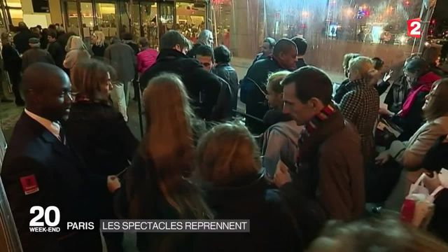 Les spectacles reprennent à Paris
