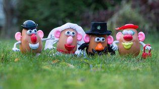 Des jouets de la famille Patate d'Hasbro, en 2014. (CHRIS THORNTON/ CATERS NE/SIPA)