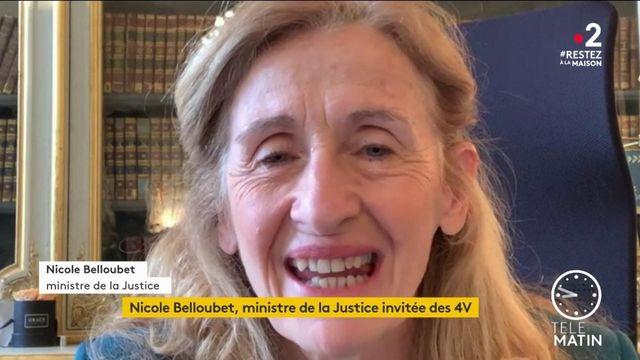"""Coronavirus : """"La situation dans les prisons est parfaitement contrôlée"""", assure Nicole Belloubet"""