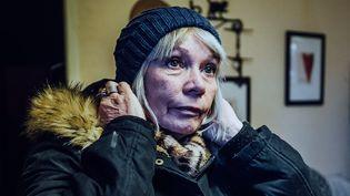 Fabienne, qui vit en Corrèze dans un appartement qu'elle n'a pas les moyens de chauffer, a accepté de témoigner sur la situation de précarité énergétique pour notre opération #LesMalChauffés (PIERRE MOREL/FRANCEINFO)